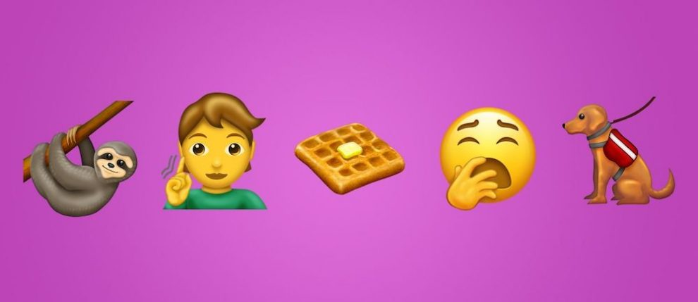 Cesnak, vodiaci pes, invalidný vozík či vafle. Toto sú nové emoji, ktoré prichádzajú v roku 2019