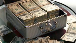 peniaze v kufríku